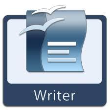 Editor de textos (Writer)